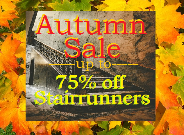 Autumn Sale 2018 Stair Runner Sale