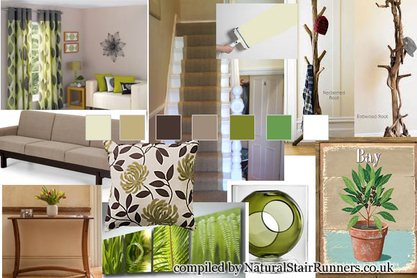 Create A Rustic Home With Coir Natural Carpeting Design