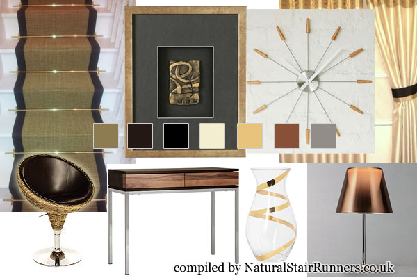 A Home Design Guide Around the Gold Sisal Rug