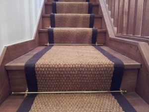 natural and eco friendly stair runner-coir
